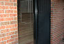 Sliding security doors with stainless steel mesh